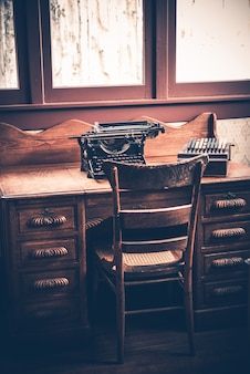 Ghostwriter desk