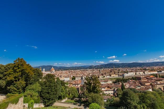 イタリア、フィレンツェのgiardino bardini