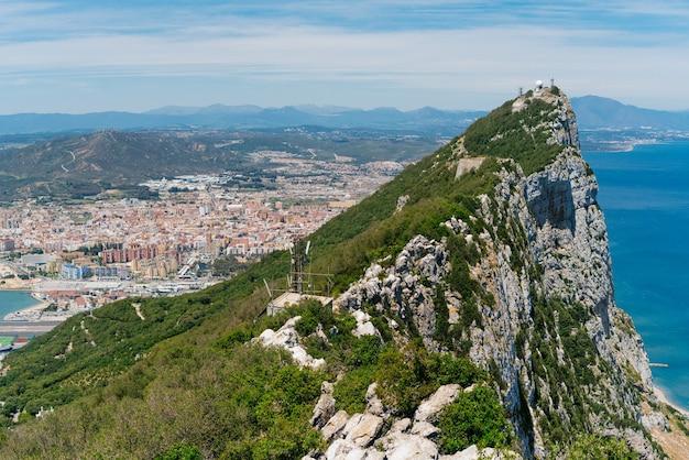 Гибралтар на вершине утеса