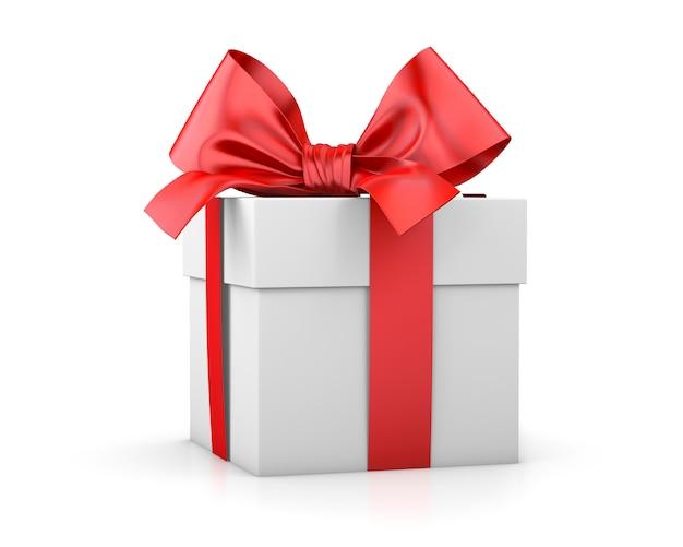 Подарочная коробка или подарок изолированные