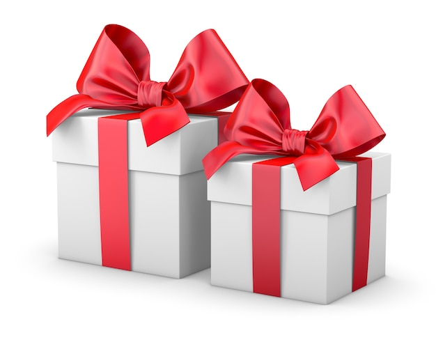 Gift box or present isolated