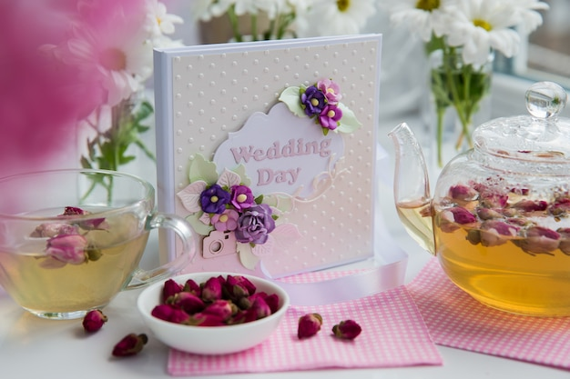 結婚式の日のギフトボックス入りcd