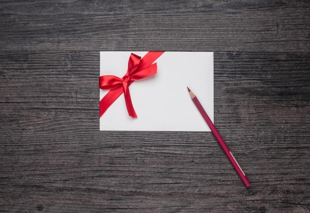 Gift coupon wood celebration valenine