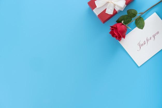 인사말 카드, 발렌타인 데이의 개념으로 선물