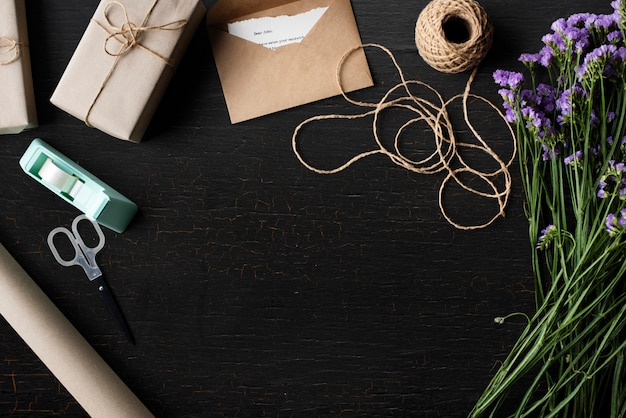 Gift wrapping design space