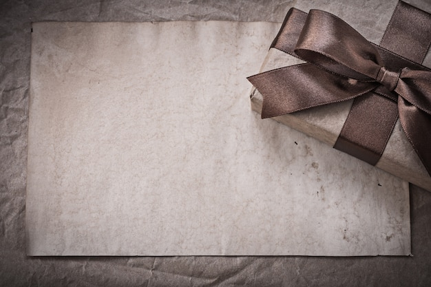 Giftbox sheet of wrapping paper