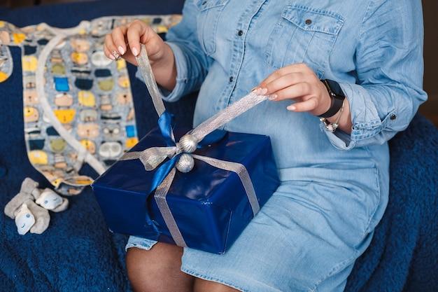 ギフト、ギフトラッピング、お辞儀ボックス、クリスマスボックス