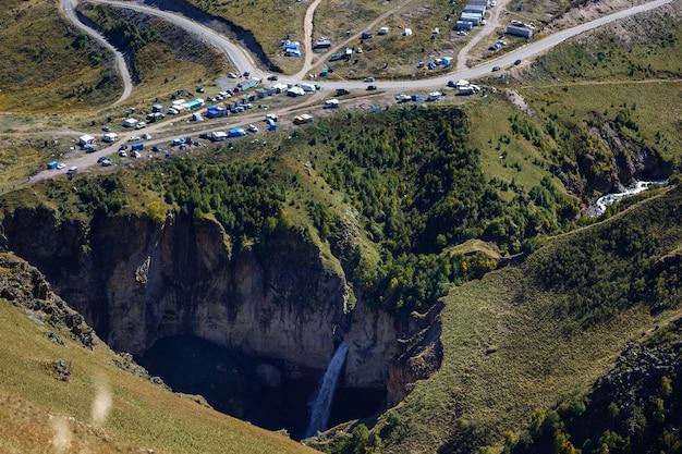 ギル・ス。癒しの鉱泉のある渓谷