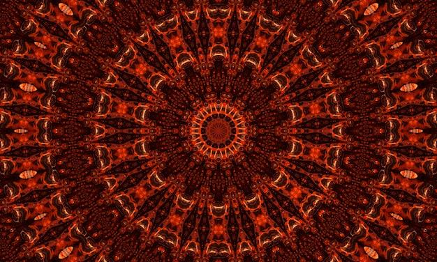 Имбирный калейдоскоп. заводные обои. имбирный ретранслятор батик. черный геометрический цвет. мистический психоделический ужас. белый геометрический коврик. бесшовные обои мистик.