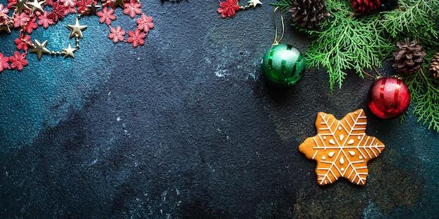 Имбирный пряник фон печенье новый год подарок рождество