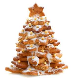 생강 빵 크리스마스 트리