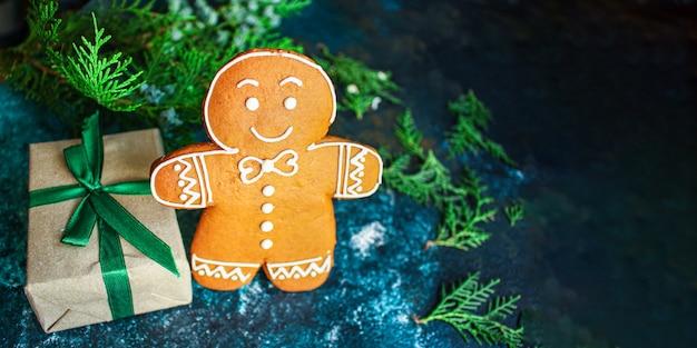 진저 브레드 쿠키 비스킷 선물
