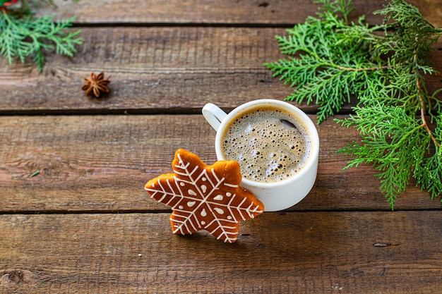 Имбирное печенье новогодний подарок рождество