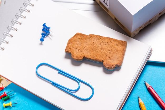 진저 쿠키 트럭 모양, 물류 개념
