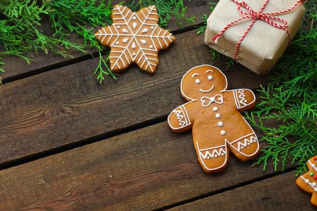 Имбирный пряник. подарки и праздник, рождество с новым годом