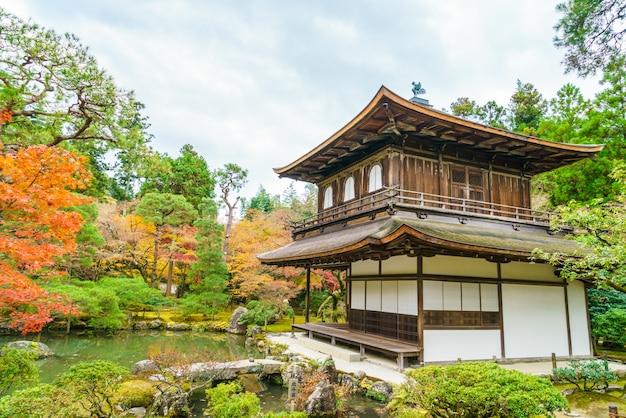 Tempio ginkakuji - kyoto, giappone