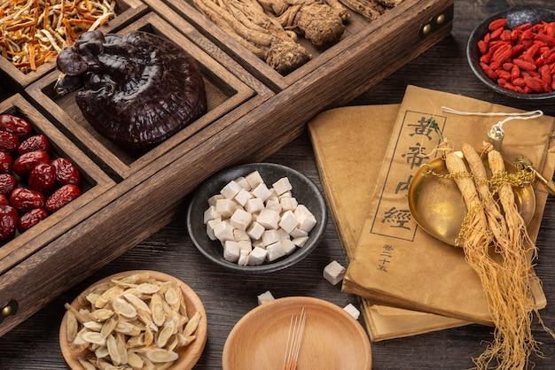 Женьшень и традиционная китайская медицина на столе