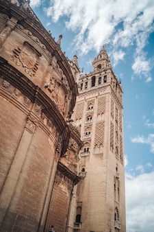 The giralda tower in seville, andalusia