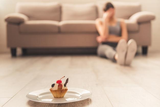 Девушка и потеря веса