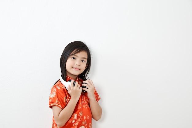 Девочка ребенок китайский новый год