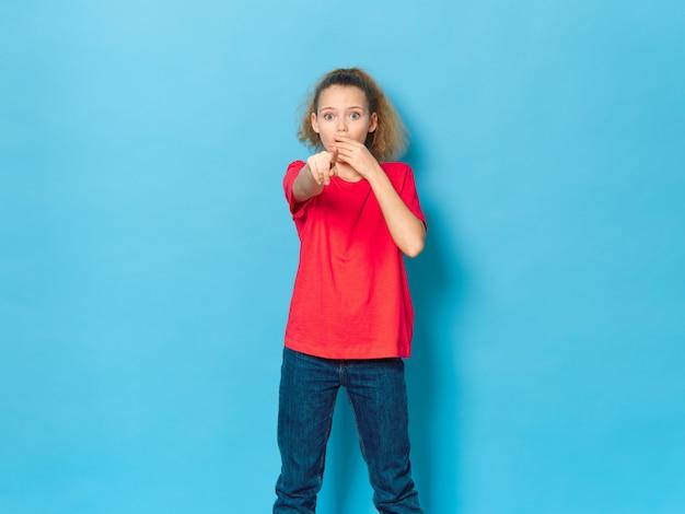 Girl child posing i