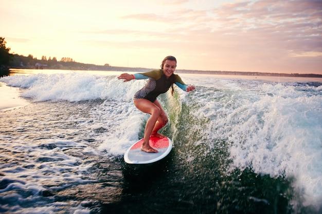 Girl enjoying the summer