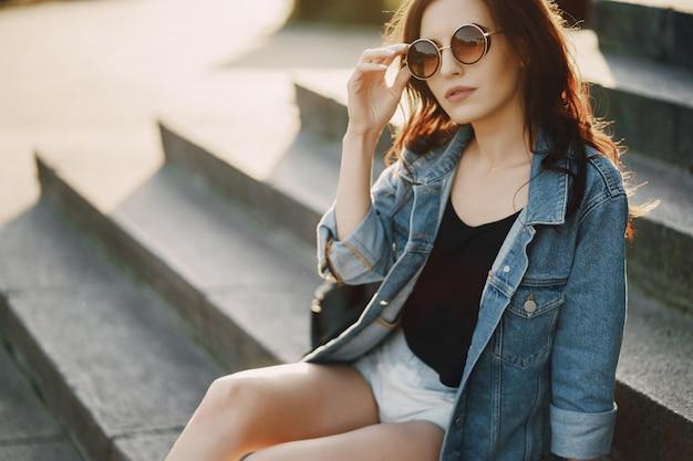 선글라스 소녀