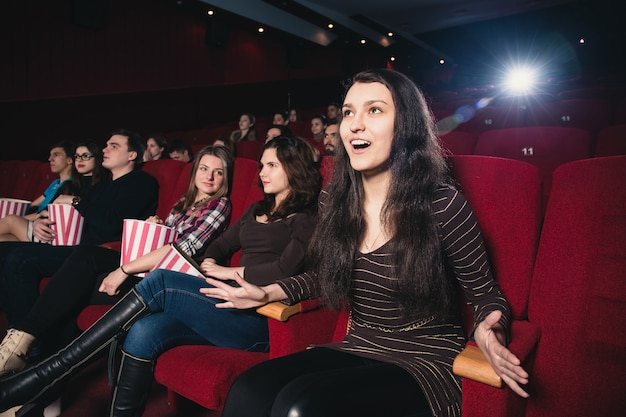 Girl in a movie