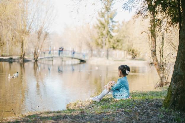 Ragazza nel parco