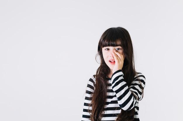 Girl telling secret