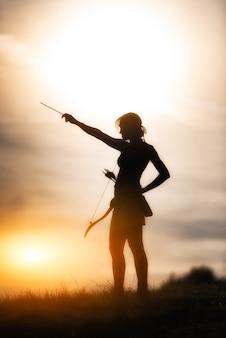 Девушка с бантом олимп