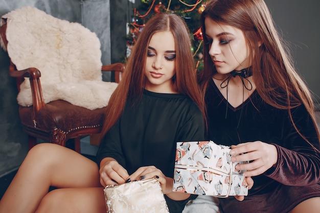 Ragazza con il regalo