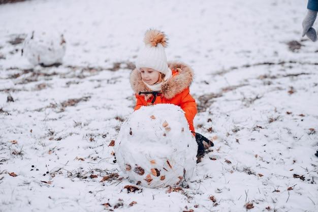 눈사람 소녀