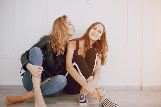 Girls in room