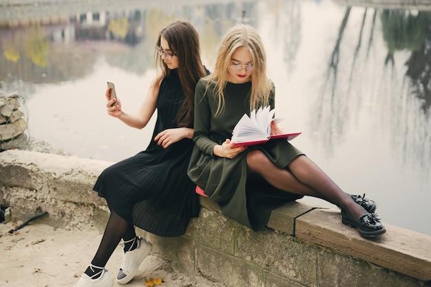 Ragazze con il libro