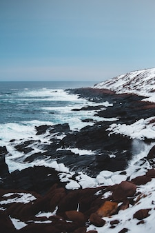 Glacier island during day