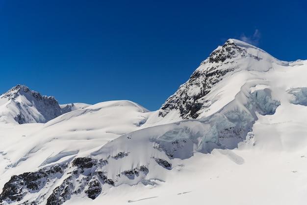 Glacier  at top of jungfraujoch