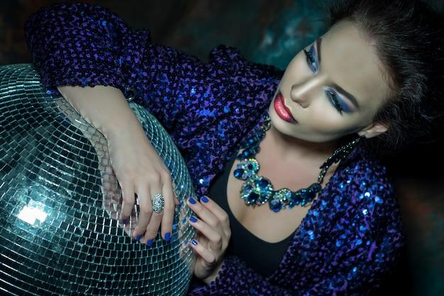 Glamour fashion woman portrait