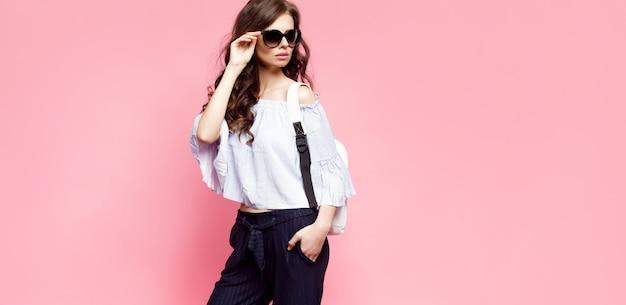 Glamour женщина трогательно солнцезащитные очки