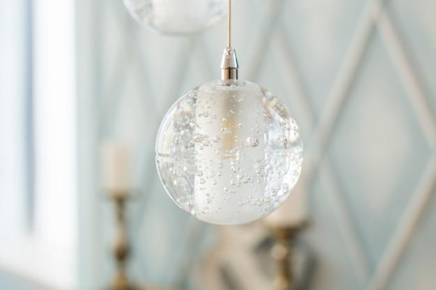 Стеклянные шарики. декор интерьера