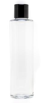 Стеклянная бутылка с пластиковой крышкой объемом 1 литр.