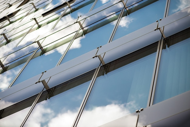Glass building. business centre