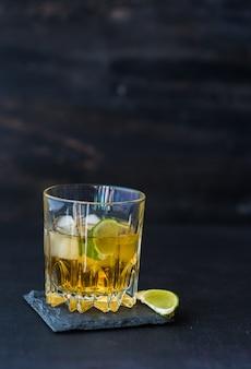 Glass of congac