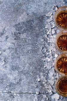 Glass of irish whiskey