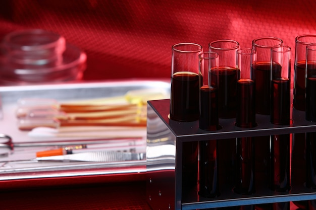 Glass lab test tools equipment