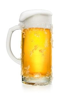 화이트에 맥주 한 잔