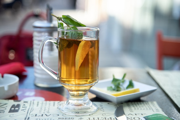 Стакан чая