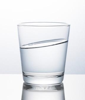 물 매크로 샷의 유리