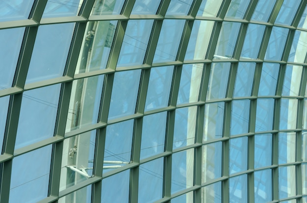 Glass roof frame