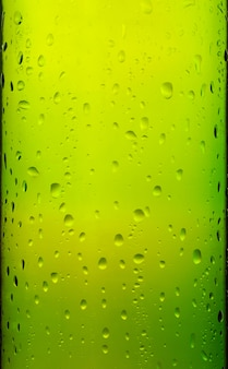 Glass with drops